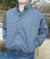 DRIVERS JACKET - BOMBER STYLE LINED WORK COAT - ZIP FRONT British Made  - JK60