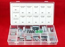 60 pc Keystock Bar Assortment SAE Square Key Stock Keyway Set