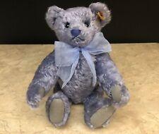 "Steiff Classic Teddy Bear 001918 11"" Florence The Lavender Bear - Purple"