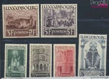 Luxembourg 309-314 (complete issue) with hinge 1938 holy. Willibrord (8669998