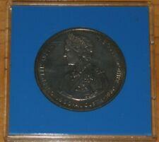 Weeda Falkland Islands 1980 BU Queen Mother Crown QEII 50p Royal Mint