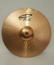 Paiste 502 14 Inch Crash Cymbal, used has little damage
