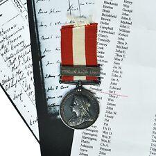 Victoria Canada General Service Medal Fenian Raid 1866 - L.Cpl J.J.Donahoe H.V.B