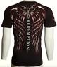 $40 ARCHAIC by AFFLICTION Men T-Shirt SPINE WINGS Tattoo BLACK Biker UFC 2XL NWT