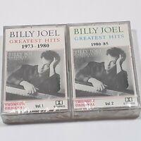 BILLY JOEL GREATEST HITS VOL 1 & 2 IMPORT CASSETTE TAPE ALBUM ROCK POP SEALED