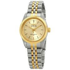 Invicta Women's Specialty 29405 Gold Dial Silver Gold Two Tone Analog Watch