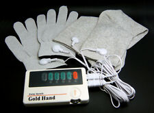 Conductive Massage Gloves and Socks with TENS Machines include 2 pairs pads