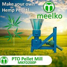 """Pellet Mill Pto 7.8"""" 200mm Pto press Pellets Hemp"""