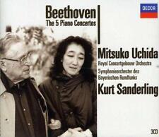 Beethoven: Sämtliche Klavierkonzerte 1-5 von Symphonieorchester des Bayerischen Rundfunks,Kurt Sanderling,Mitsuko Uchida,Royal Concertgebouw Orchestra (2005)
