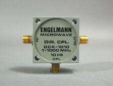 Engelmann Microwave Dck-1010 Directional Coupler 1-1000 Mhz - New