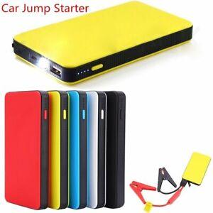 Mini Portable 12V Car Jump Starter 20000mAh Power Booster Battery Charger
