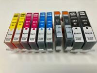 10 ink Cartridge 564XL for HP C5550 C5570 C5580 C6375 C6383 D5463 D5468 C310 410
