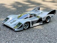 "S0706/2- Carrozzeria Body RC 1/8 VINTAGE ""PORSCHE 956 TIPO 2"" passo 295mm"