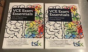 VCE exam essentials unit 3 & 4 psychology Course Notes 2020 -2021