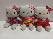 Peluche Hello kitty cm.20 giocattoli sicuri dolci preziosi kimono fragole