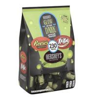 Hershey's Halloween Chocolate Snack Size Assortment Glow in the Dark 230ct FRESH