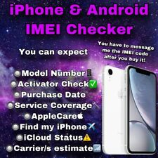 Check iPhone & Android Info QUICK! - IMEI/SSN