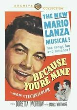 Because You're Mine 0883316219379 With James Whitmore DVD Region 1