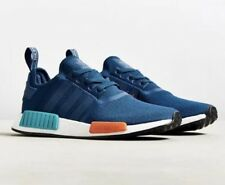 ADIDAS NMD R1 NAVY BLUE RED BLACK PRIMEKNIT BOOST SHOES US9 DEADSTOCK NEW