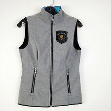 Arista Quilted Combi Vest Black