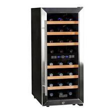 """Koldfront Twr247E 14""""W 24 Bottle Wine Cooler - Stainless Steel"""