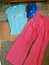 HOLIDAY/FESTIVAL BUNDLE~ADIDAS T-Shirt & Baseball Hat, HIPPY TROUSERS~Small