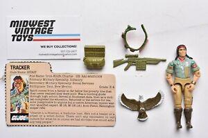 Vintage GI JOE Action Figure 1984 SPIRIT 100% Complete - HASBRO