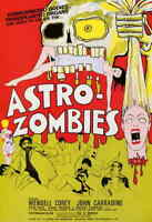 """ASTRO-ZOMBIES Movie Poster 27x40"""" Theater Size - Licensed 