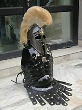 Armor Medieval Greek Helmet With Antique Muscle Armor Jacket Armor Costume