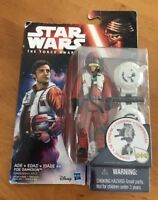 Star Wars The Force Awakens 3.75-Inch Figure Space Mission Poe Dameron - NIB (G)