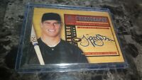 2000 SP CHIROGRAPHY TRIPPER JOHNSON AUTO BASEBALL CARD