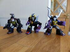 Transformers Robot Heroes Juego De 3 rígido (Bombshell), de metralla + contragolpe G1