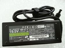 90W Sony Vaio SVF142C29L SVF142C29M SVF14217CXB Power AC Adapter Charger & Cable