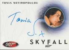 Tonia Sotiropoulou 2013 Rittenhouse James Bond Skyfall autograph auto card A240