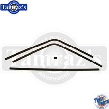 68-70 Charger Rear Window Interior Headliner Windlace Plastic Trim 4 Piece Set
