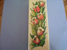 PENNY BLACK RUBBER STAMPS TULIP TOWER STAMP NEW STAMP