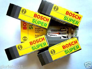 X4 BOSCH SUPER 7590 Spark Plug !!PACK OF 4!!!