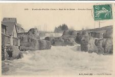 CPA Pont de Poitte / Patornay  39 Jura - Saut de la Saisse - Grandes eaux - BE