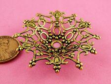 Dapt Beaded Filigree-1 Pc(s) Vint Design Ant Brass