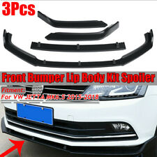 For Volkswagen VW Jetta MK6.5 2015-2018 Front Bumper Lip Body Kit Spoiler