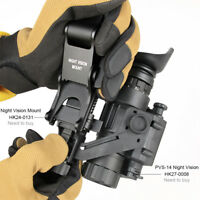 Night Vision Scope Monocular Infrared IR HD Hunting Camera OR Rhino Arm Mount