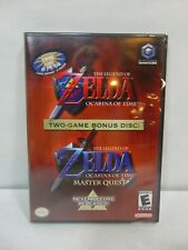 Legend of Zelda Ocarina of Time OOT & Master Quest Nintendo Gamecube New Sealed