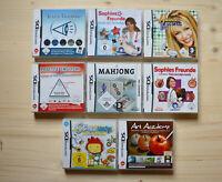 NDS - 8 Spiele für Nintendo DS in OVP (Set 9)