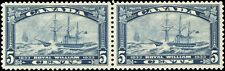 Canada Mint NH F-VF Pair of 5c Scott #204 1933 Royal William Stamps