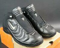 OG 2003 NIKE BALLER FOCUS SIZE UK-10 EU-45 RARE VTG DS TRAINERS BOOT BLACK JEWEL