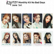 ITZY No Bad Days Monthly Kit June Official Photocard & Exclusive Polaroid KPOP