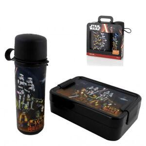 StarWars Rebels Lunch Set Brotdose + Trinkflasche Brotbox Pausenbrot Vesperdose