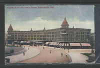 1910 ENGLISH HOTEL AND OPERA HOUSE INDIANAPOLIS IND POSTCARD