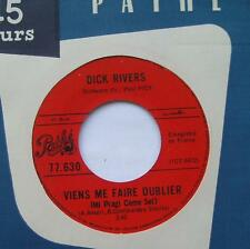 *DICK RIVERS Viens me faire oublier VG++ to NM- CANADA 1966 FRENCH POP 45 rpm