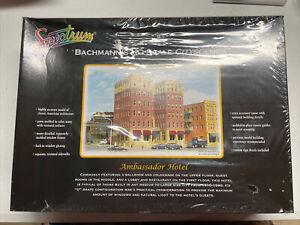 Bachmann HO Scale City Scenes Kit #88002 - Ambassador Hotel - NIB Plastic Kit